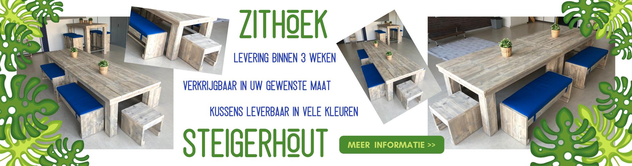 Banner zithoek steigerhout nov 2019