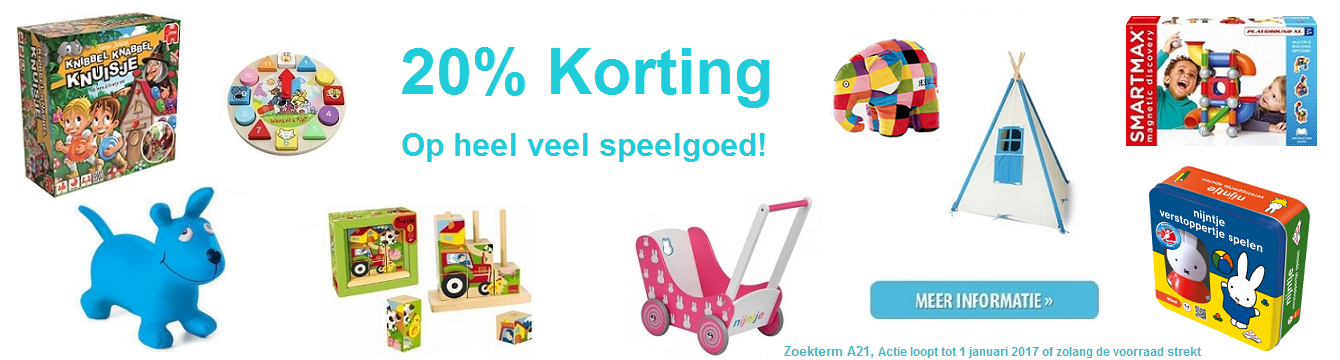 20% korting A21