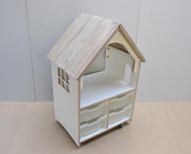 Meubilair poppenhoek poppenhuis steigerhout tangara for Meubilair groothandel