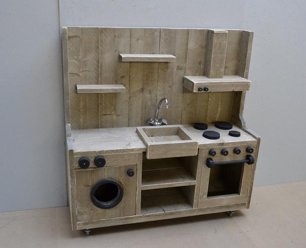 Steiger houten meubilair keukentje jehna tangara for Meubilair groothandel