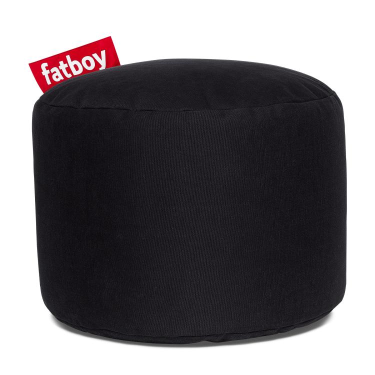 Fatboy Zwart Zitzak.Zachte Zitjes Zitzakken Fatboy Point Stonewashed Zwart