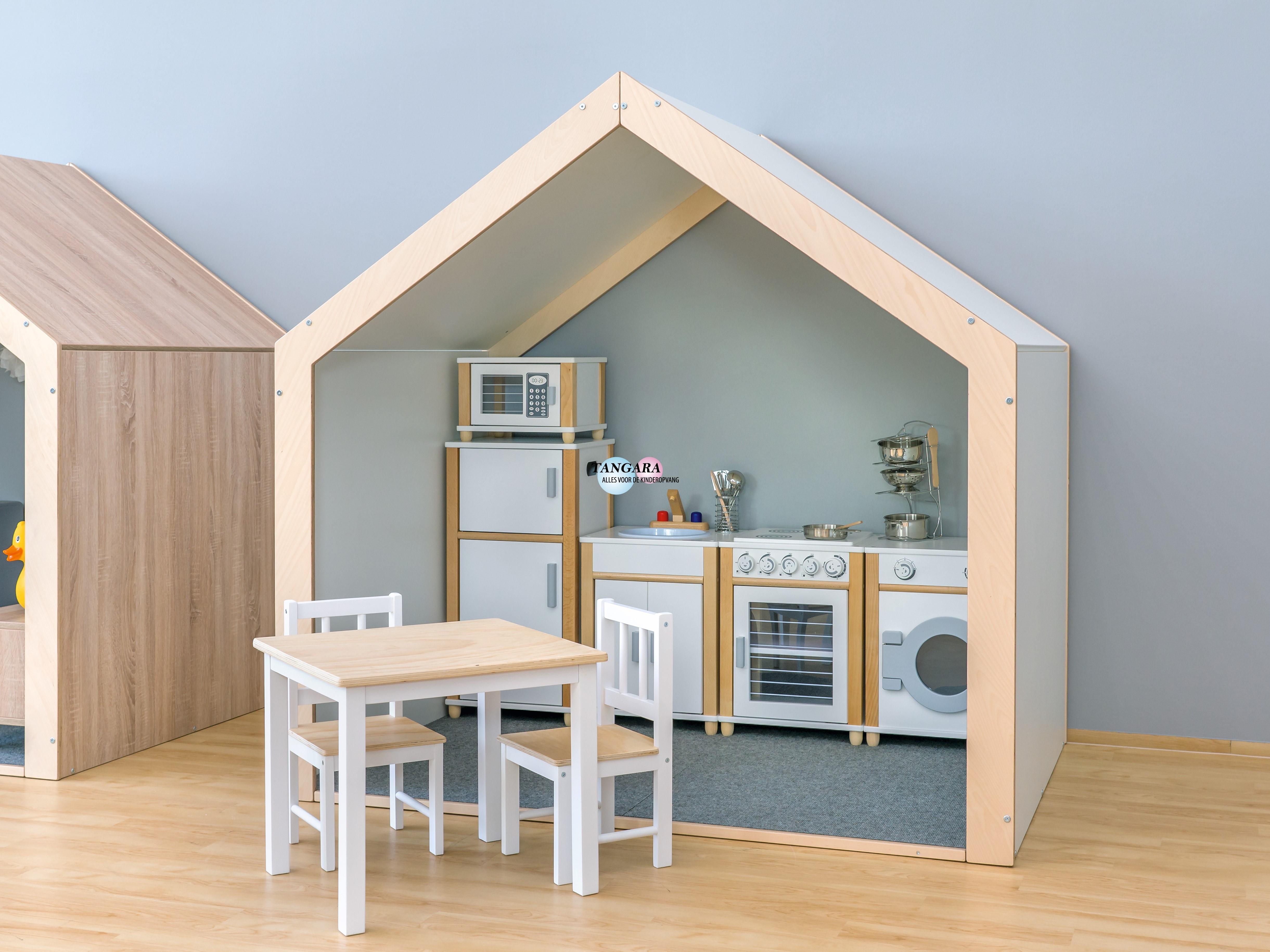 Keuken Met Zithoekje : Tafels stoelen & bankjes: kinder zithoekje 3 delig wit of