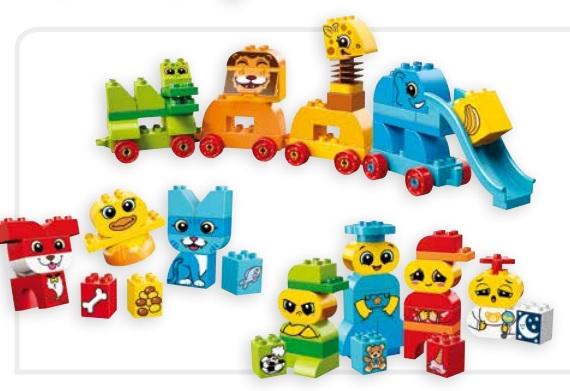 Sociaal Emotioneel Lego Duplo Dierenwereld Tangara Groothandel