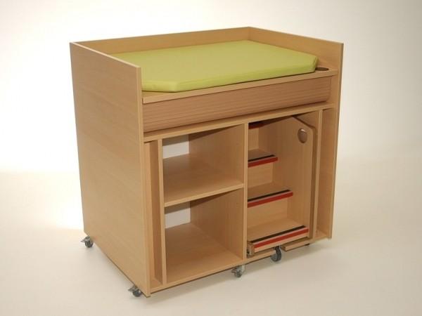 commodes commode b 100 cm verrijdbaar met trapje zonder deuren tangara groothandel. Black Bedroom Furniture Sets. Home Design Ideas