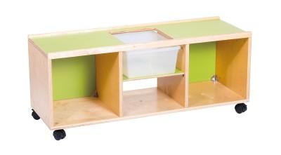 Aanbouw meubilair forest speelkast met opbergbak op for Meubilair groothandel
