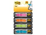 Index Post-It pijlen rz/cy/gl/gr/set4x24