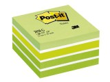 Notitieblok PostIt 76x76mm pastelgr/450v