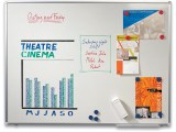 Whiteboard Our Choice 90x120 gelakt