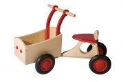 Bakfiets, rood